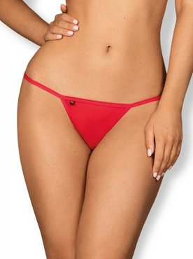 Giftella String - Rood