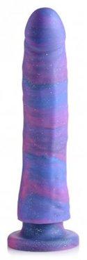 Magic Stick Siliconen Dildo Met Glitters - 24 cm