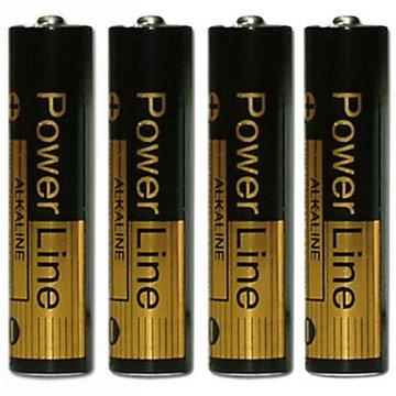 Batterijen AAA 4 stuks