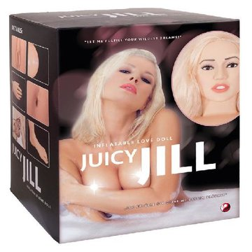Juicy Jill - blonde opblaaspop