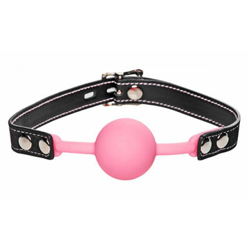 Glow Gag - Glow In The Dark Siliconen Ball Gag