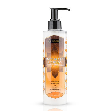 Kamasutra Intimate Caress Coconut Pineapple Scheercrème